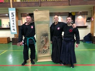 Stage Takagi Yoshon Ryu, Laïd Bouadjadja, automne 2019
